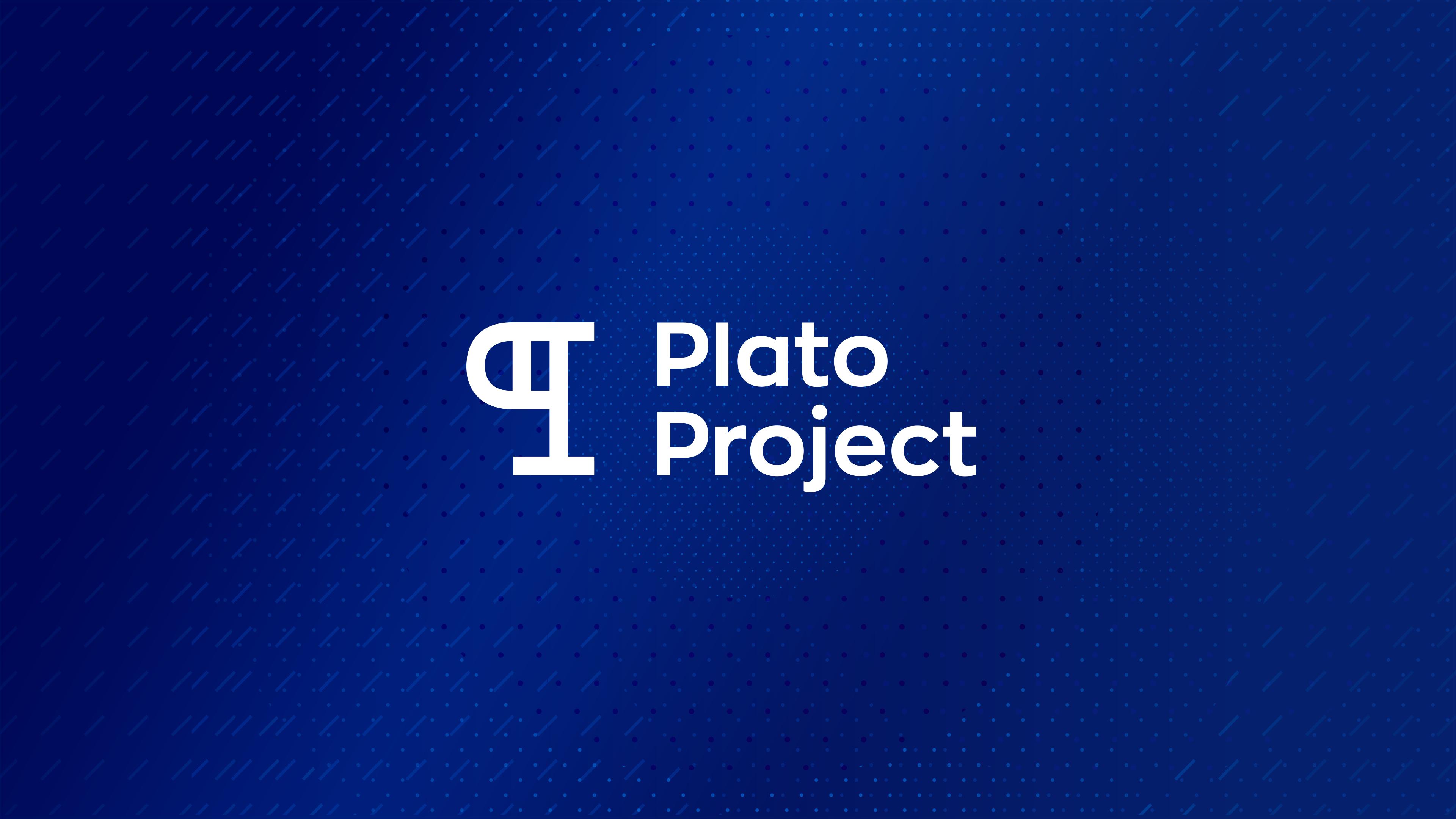 Plato Project Brandmark designed by Helium design Melbourne
